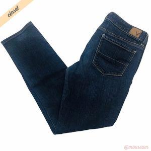 [American Eagle] Dark Wash Skinny Stretch Jeans